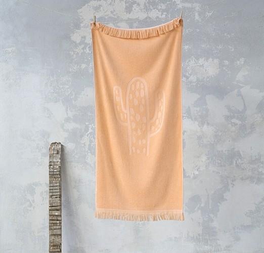 Πετσέτα  Παιδική Cactil Salmon - Nima Home