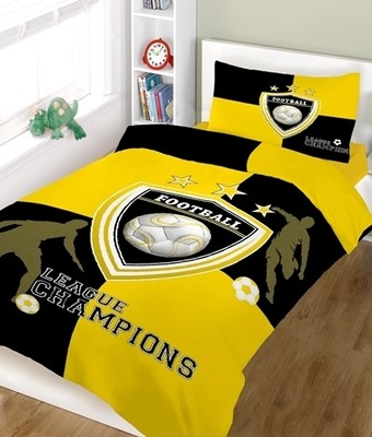 Σετ Σεντόνια Μονά Champions Yellow-Black Cotton Line
