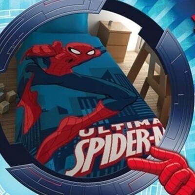 Κουβέρτα Βελουτέ Μονή Spiderman - Disney