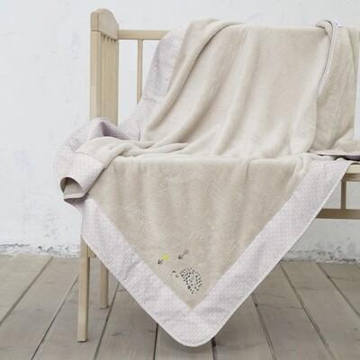 Κουβέρτα Λίκνου Fleece με Φάσα Riccio - Nima Home