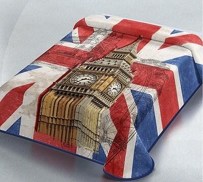 Κουβέρτα Βελουτέ Μονή Ισπανίας 328 London - Belpla