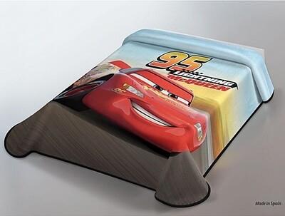 Κουβέρτα Βελουτέ Cars - Disney Ισπανίας - Belpla
