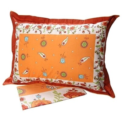 Σετ Σεντόνια Μονά Cotton Feelings 4675 Orange - Sunshine