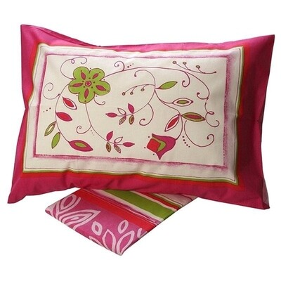 Σετ Σεντόνια Μονά Cotton Feelings 9776 Pink - Sunshine