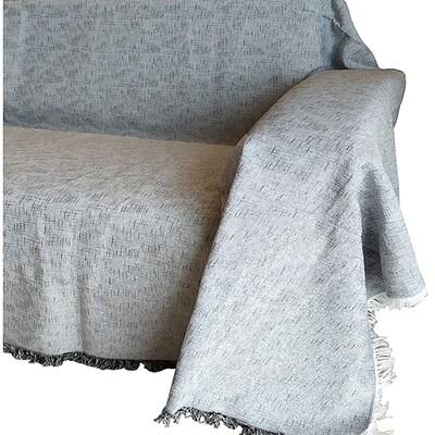 Ριχτάρι Μονοθέσιο Madrid Dark Gray - Cotton
