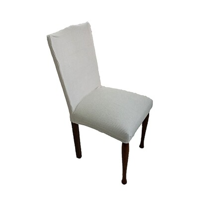 Κάλυμμα Καρέκλας Ελαστικό Danai Ανοιχτό Γκρι