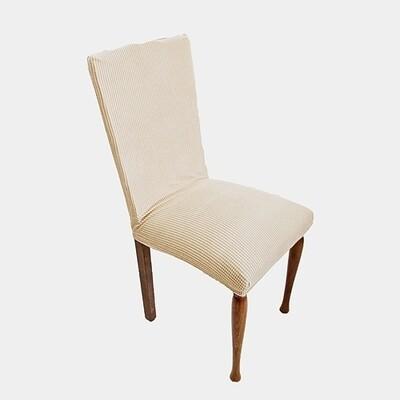 Κάλυμμα Καρέκλας Ελαστικό Danai Εκρού