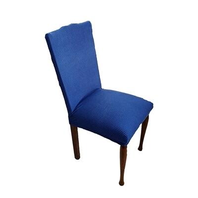 Κάλυμμα Καρέκλας Ελαστικό Danai Μπλε