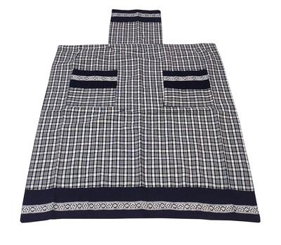 Ποδιά Ολόσωμη Vintage Black - Komvos