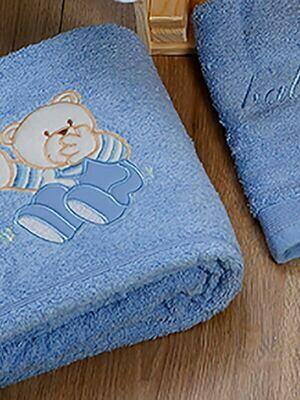 Σετ Πετσέτες 2 τεμ. Bear Blue