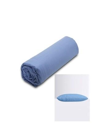Σετ Κατωσέντονο Λάστιχο Μονό & 2 Μαξιλαροθήκες  Blue Menta - Sunshine