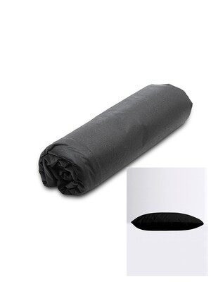 Σετ Κατωσέντονο Λάστιχο Μονό & 2 Μαξιλαροθήκες  Black Menta - Sunshine