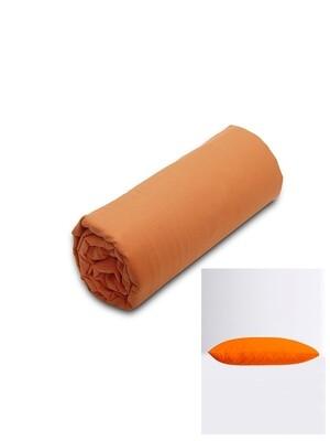 Σετ Κατωσέντονο Λάστιχο Υπέρδιπλο & 2 Μαξιλαροθήκες  Orange Menta - Sunshine