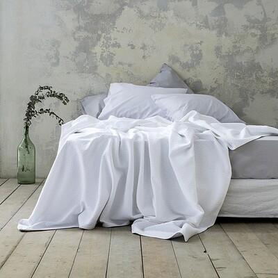 Κουβέρτα Υπέρδιπλη Skylar White - Nima Home