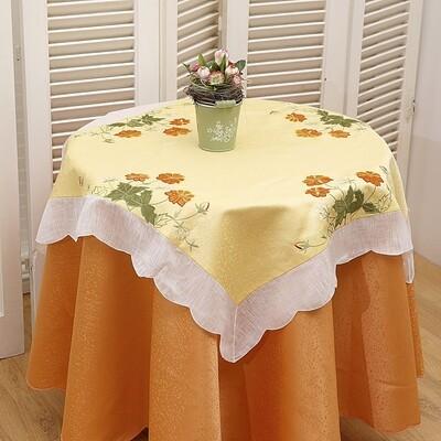 Καρέ Κέντημα 8021266 Yellow - Ilis Home