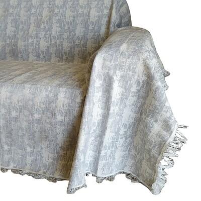 Ριχτάρι Μονοθέσιο Toledo Light Gray - Cotton