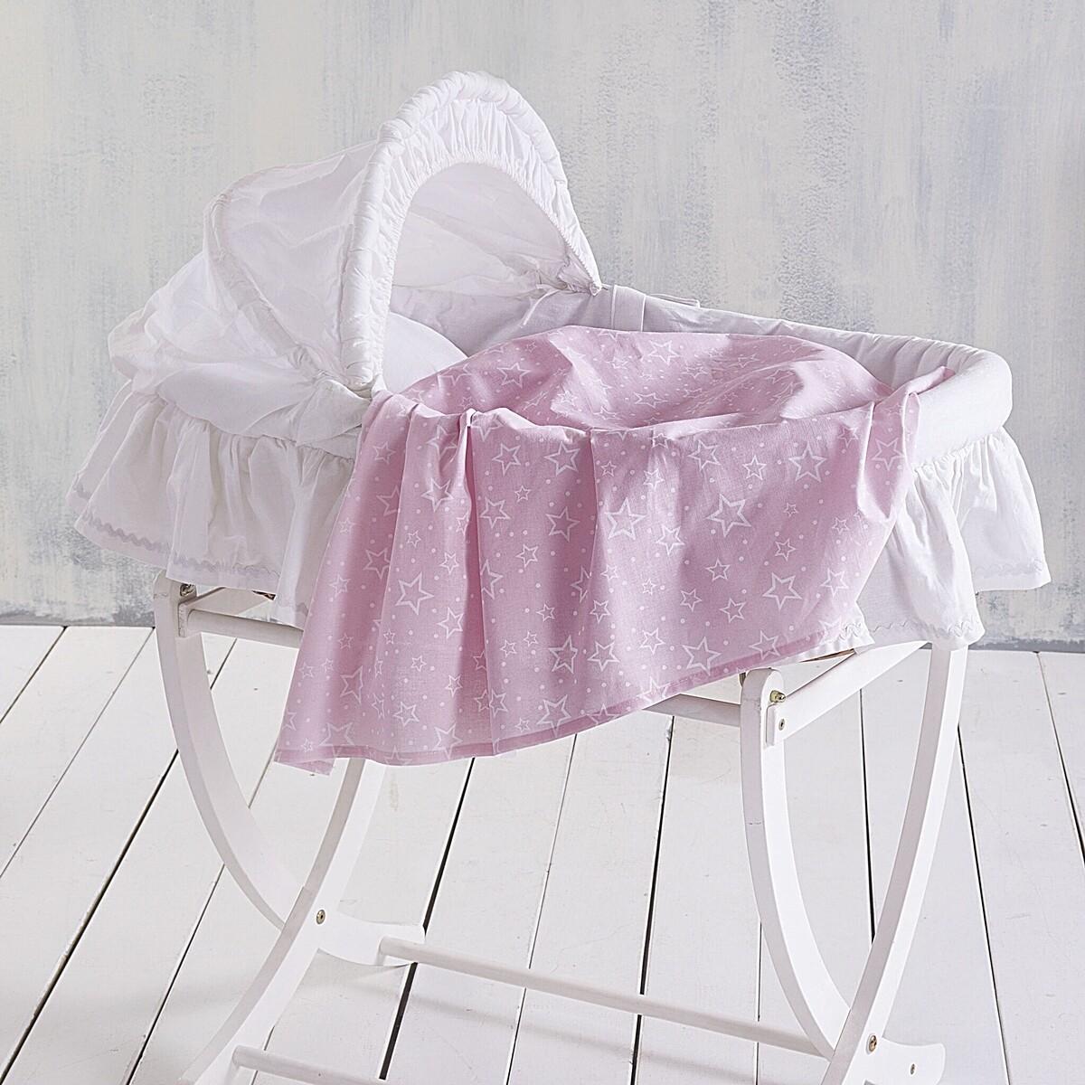 Σεντόνι Λίκνου Bright Pink - Rythmos