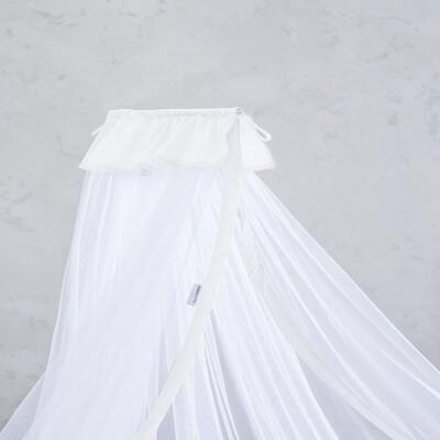 Κουνουπιέρα Κούνιας Nappy White - Nima Home