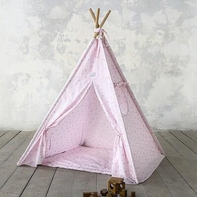 Παιδική Σκηνή Teepee Pink - Nima Home