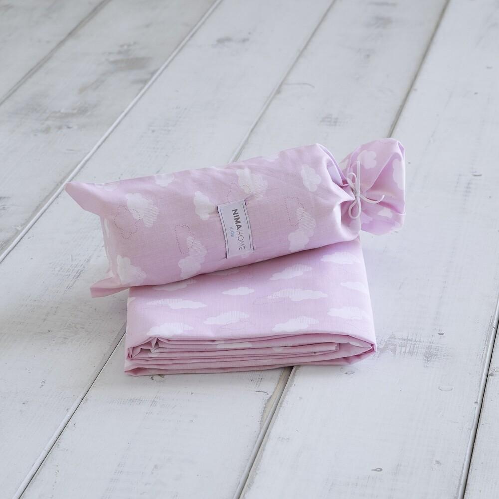 Σεντόνι Ημίδιπλο Nuage Pink - Nima Home