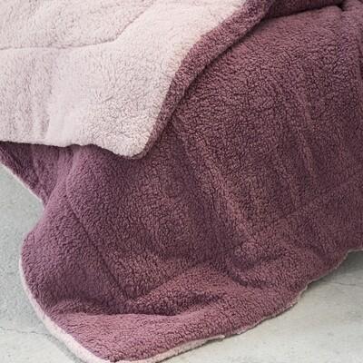 Κουβερτο-Πάπλωμα Γίγας Melt Powder Pink-Cassis - Nima Home