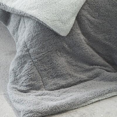 Κουβερτο-Πάπλωμα Υπέρδιπλο Melt Mint-Dark Gray - Nima Home