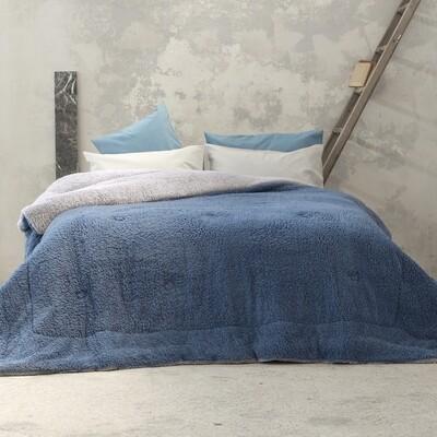 Κουβερτο-Πάπλωμα Υπέρδιπλο Melt Light Gray-Blue - Nima Home