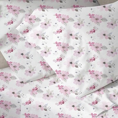 Παπλωματοθήκη Μονή Menta 030 Pink - Sunshine