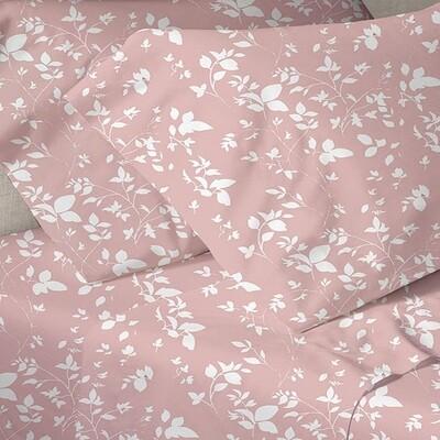 Παπλωματοθήκη Μονή Menta 040 Pink - Sunshine