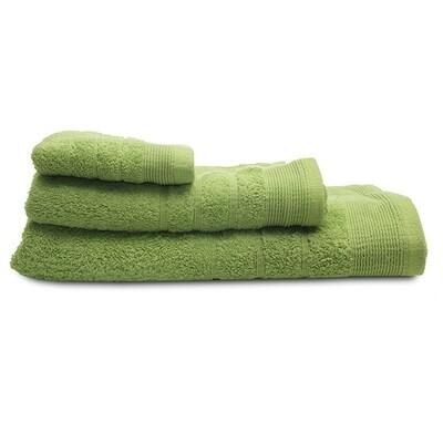 Πετσέτα 30Χ50 εκ. Μονόχρωμη Χίμπουρι Green - Sunshine