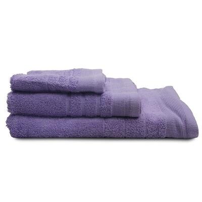 Πετσέτα 30Χ50 εκ. Μονόχρωμη Χίμπουρι Lavender - Sunshine
