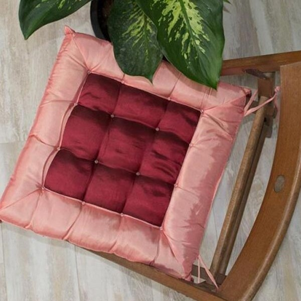 Μαξιλάρι Καρέκλας Satin Pink - Sunshine