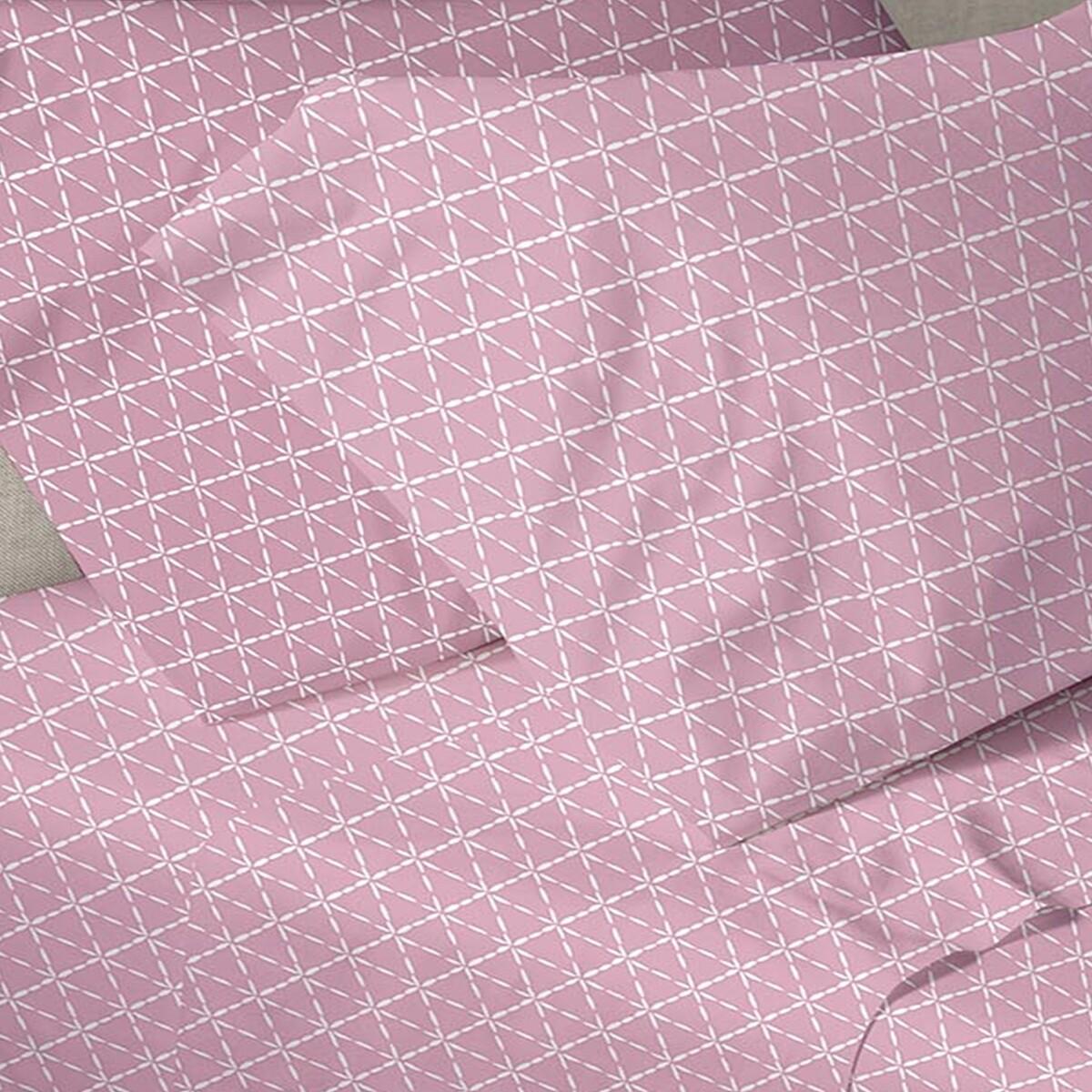 Μαξιλαροθήκες Ζευγάρι Menta 940 Pink - Sunshine