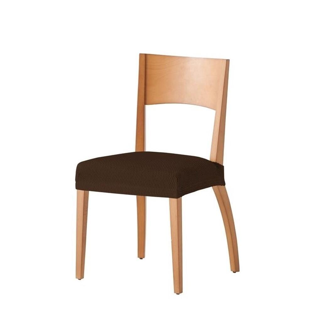 Σετ 2 τεμ. Κάλυμμα Κάθισμα Καρέκλας Ελαστικό Tunez Καφέ - Mc Decor