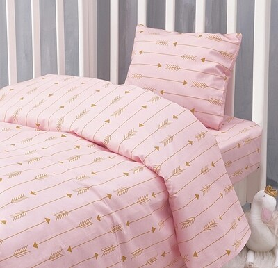 Πάπλωμα Κούνιας Arrow Pink - Rythmos