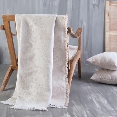 Ριχτάρι Μονοθέσιο Fiona Ecrou - Cotton