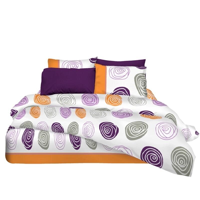 Μαξιλαροθήκες Ζευγάρι Snail Βαμβάκι 100% - Cotton Senses