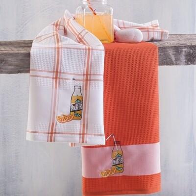 Σετ Πετσέτες Κουζίνας Πικέ 2 τεμ. Citrus - Rythmos