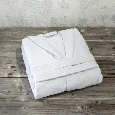 Μπουρνούζι Velour Zen White - Nima Home