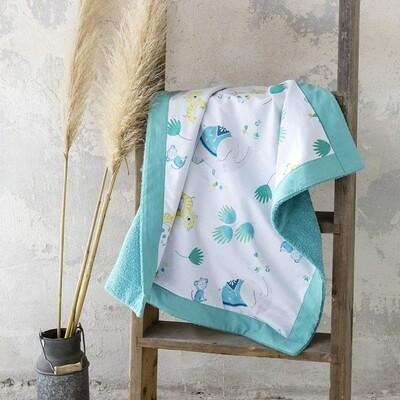 Πετσέτα Θαλάσσης Δύο Όψεων 75Χ75 εκ. Chirpy - Nima