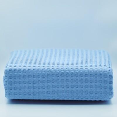 Κουβέρτα Πικέ Μονή Βαμβακερή Blue - Adam Home