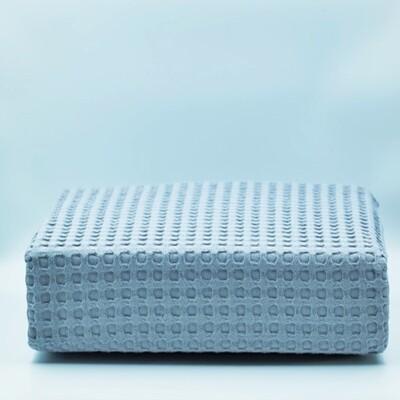 Κουβέρτα Πικέ Μονή Βαμβακερή Gray - Adam Home