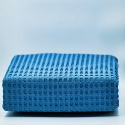 Κουβέρτα Πικέ Υπέρδιπλη Βαμβακερή Dark Blue - Adam Home