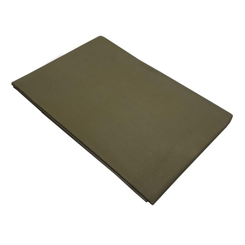 Μαξιλαροθήκες Cotton Line Ζευγάρι Army Green - Komvos