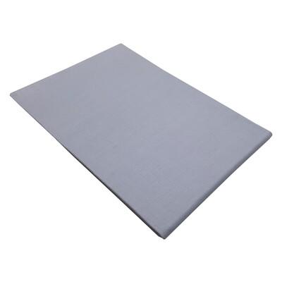 Μαξιλαροθήκες Cotton Line Ζευγάρι Gray - Komvos