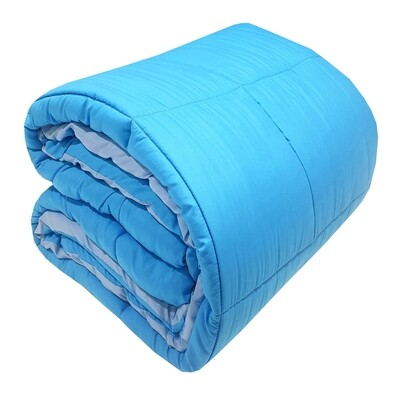 Πάπλωμα Υπέρδιπλό Micro Light Blue-Tyrqoise - Komvos