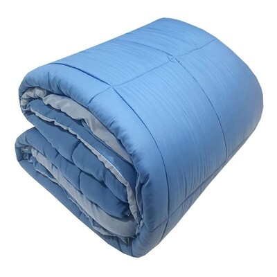Πάπλωμα Υπέρδιπλό Micro Light Blue-Blue - Komvos