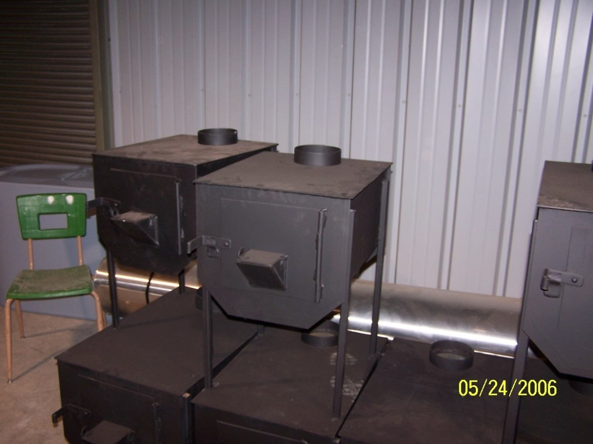 Western Steel Works Large Camp Stove