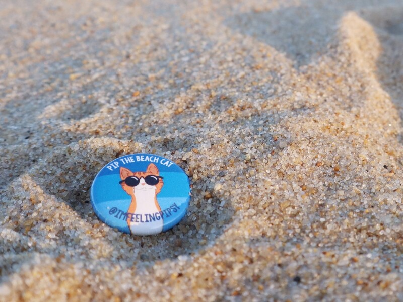 Teeny Pip Button Pin