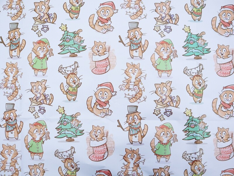 WAITLIST AVAILABLE: Holiday Custom Wrapping Paper Packs
